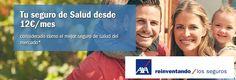 www.segurchollo.com  Seguro de salud Axa desde 12€ al mes
