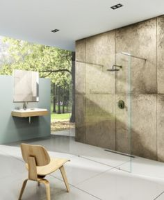 Sprchový kout Walk-in