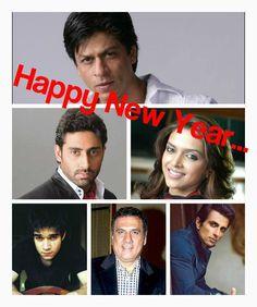 Shah Rukh Khan,Deepika Padukone,Abhishek Bachchan,Boman Irani,Sonu Sood & Vivaan Shah - Happy New Year (2014)