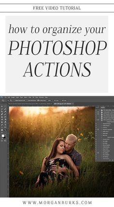 In this tutorial, I'll show you a few tips for organizing Photoshop Actions so you can easily locate the ones you want to use and save time! Photoshop Website, Cool Photoshop, Best Photoshop Actions, Photoshop Photos, Photoshop Lessons, Adobe Photoshop Elements, Photoshop Effects, Photoshop Design, Photoshop Photography