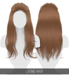 Leonne Hair for The Sims 4 by Simpliciaty