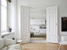 Design Hub - блог о дизайне интерьера и архитектуре: Шведский интерьер в Готенбурге