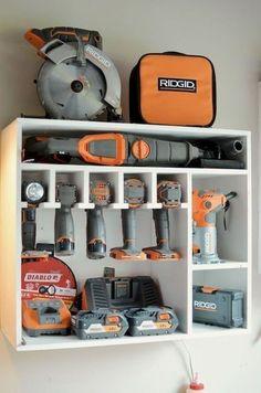 Garage Organization Systems, Diy Garage Storage, Organization Hacks, Storage Ideas, Storage Solutions, Garage Storage Cabinets, Cabinet Storage, Smart Storage, Cabinet Ideas
