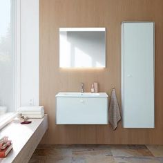 Discover Duravit's Fresh and Contemporary New Bathroom Collection ➤ Mini Bad, Next Bathroom, Duravit, Bathroom Collections, Mirror Cabinets, Contemporary, Inspiration, Bathrooms, West London