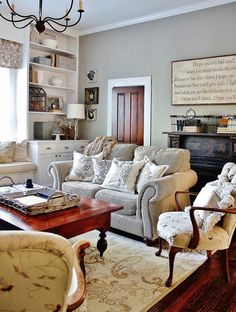 Thistlewood Farm living room