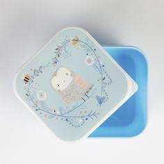 Lunchbox 12x12 Eule - Sass & Belle -  www.lolakids.de