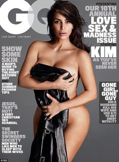 The big cover: She was presenting an award to Mert Alas who got her nude for the June 2016 cover of GQ