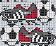 Artes e bordados da Sol: Gráficos de símbolos de Futebol