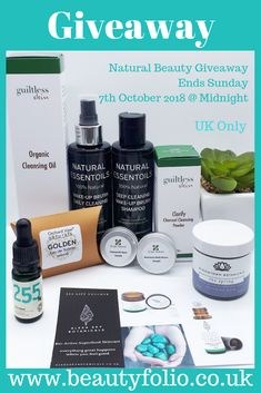 I have a natural beauty giveaway over on my blog. It ends soon so don't forget to sign up!  UK Only. Natural Oils, Natural Skin Care, Natural Beauty, Beauty Giveaway, Cleansing Oil, Beauty Box, Don't Forget, Shampoo, Posts