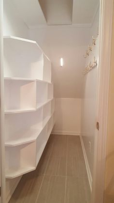 Tackling the closet under the stairs a total home makeover post under stairs closet from scratch greentooth Image collections