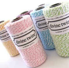 Divine Twine - Great colours to choose from by The Haby Goddess