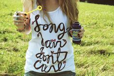 long hair dont care. WANT THIS SHIRT