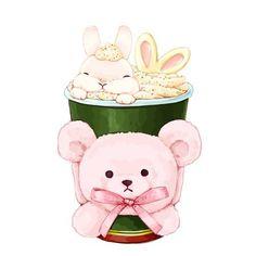 Cute Animal Drawings Kawaii, Cartoon Drawings Of Animals, Cute Cartoon Animals, Kawaii Drawings, Kawaii Art, Cute Drawings, Kawaii Anime, Cute Animals, Bunny Drawing