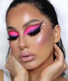 Bold Makeup Looks, Glam Makeup Look, Sexy Makeup, Gorgeous Makeup, Beauty Makeup, Makeup Inspo, Makeup Tips, Face Charts, Eye Makeup Art