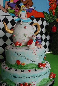 Alice in Wonderland / Mad Hatter Birthday Party Ideas | Photo 7 of 23 | Catch My Party