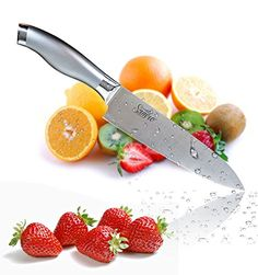 #1 High Quality Chef's Knife 8 Inches Stainless Steel Silver Professional Modern Design Cook's Knife with a Well Balanced Comfortable Handle for Multipurpose Use Inside or Outside! SAMRO http://www.amazon.com/dp/B01AKPYJBK/ref=cm_sw_r_pi_dp_.cV9wb1H1QW8S