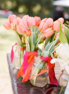 Déco tulipes