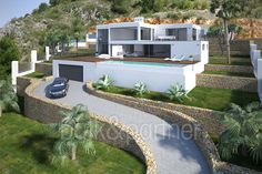 Ibiza style villa with sea views for sale in Jávea - ID 5500486 - Real estate is our passion... www.bulk-partner.com