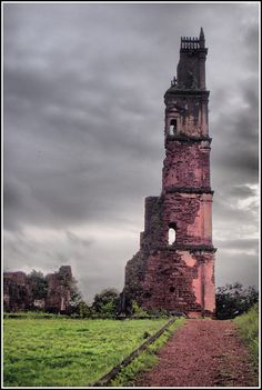 Church Of St Augustine Tower Ruins, Old Goa