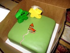 Carcassonne meeple - Awesome cake!