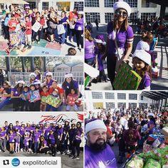 """24 Likes, 1 Comments - Perla Esperanza Foundation 👸 (@perladeesperanzafoundation) on Instagram: """"#Repost @expolitoficial (@get_repost) ・・・ Nos llena de alegría ver los rostros de felicidad de…"""""""