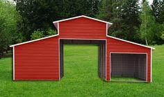 30x31 Barn Carport | Leland's of Jacksonville