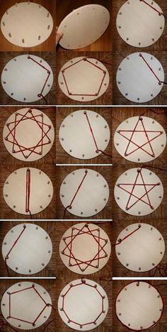 Waldorf ~ 2nd grade ~ Math ~ Facts ~ Multiplication Wheel