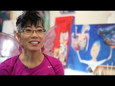 Intuitive Painter Samyak Yamauchi: 'Painting Doesn't Have To Be Scary' . Arts & Life | OPB