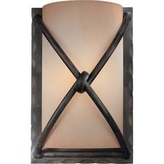 Found it at Wayfair - Aspen II 1 Light Wall Sconce