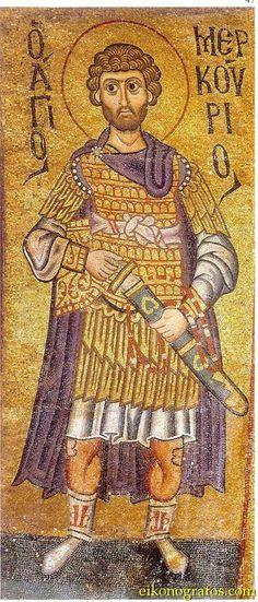 10th C St Merkourios Hosios Loukas