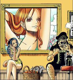 Nami nico robin anime animegirl ecchi one piece - Belmer one piece ...