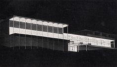 Max Bill. Casabella 228 1959: 34 Max Bill, Historical Landmarks, Inside Outside, Constructivism, Architecture Drawings, Nature Reserve, Bauhaus, Vignettes, Island