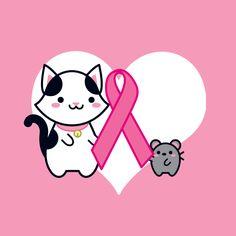 We are together for this campaign to fight breast cancer. Take care! – Estamos juntos nessa campanha pela luta contra o câncer de mama. Cuide-se!