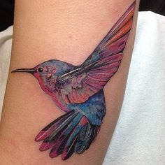 Hummingbirds | 19 Tattoos That Literally Everyone Got In 2014
