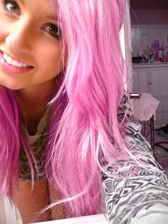 #Cotton #Candy #Pink #Scene #Hair Jackie Evancho - To Believe http://stg.do/fCpe