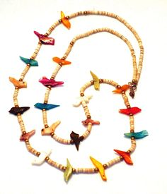 Zuni American Indian Fetish Bird Necklace $49 at http://www.banglesandbeadsonline.com