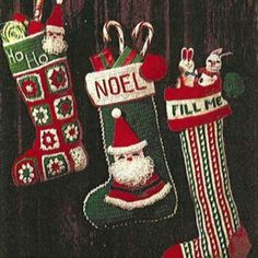 You asked, we delivered: Here are some of the most-requested stocking patterns from our December 1977 issue. Happy holidays! - FamilyCircle.com