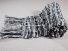 Artes na Passarela: Cachecol de tricô