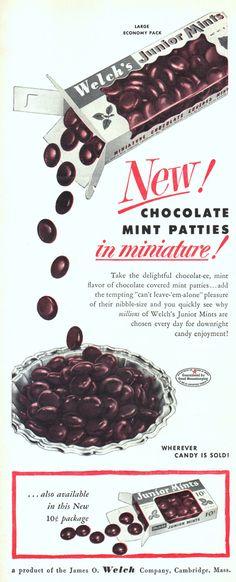 Welch's Junior Mints.