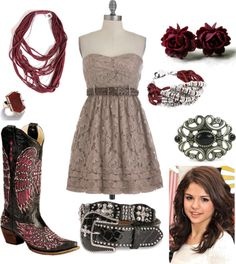 Love love love except the picture of Selena Gomez she's FAR from country :P