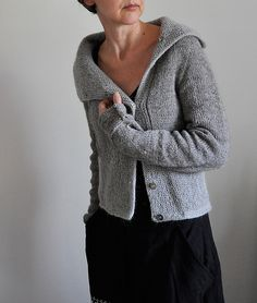 Ravelry: Mrs. Garter knitting pattern cardigan by ANKESTRiCK