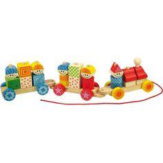 Bigjigs toys, Drewniany Pociąg