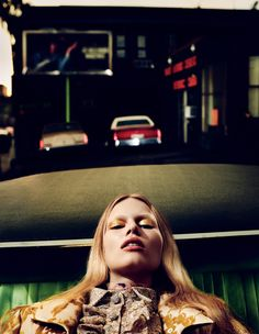 Interview Março 2014 | Anna Ewers por Mikael Jansson