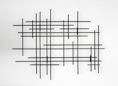 Linear by Karo Martirosyan (Metal Wall Sculpture) | Artful Home
