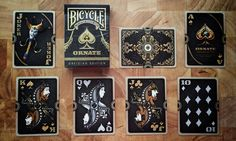 Deck View: Limited Bicycle Branded Obsidian Edition Playing Cards | Kardify : Playing Cards News