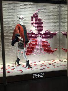 LK By Lincoln Keung - FENDI Window Display - THE LANDMARK - Hong Kong