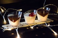 Vasitos de Fresa, Yogur y Chocolate – Bizcocheando
