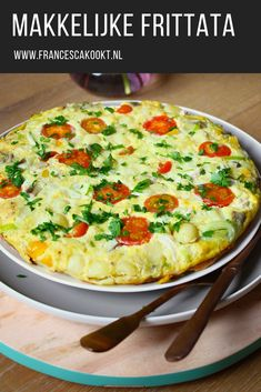 E-mail - Ieske Slieker - Outlook Healthy Recepies, Super Healthy Recipes, Veggie Recipes, Lunch Recipes, Cooking Recipes, Frittata, Low Carb Brasil, Good Food, Yummy Food