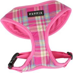 $14.95-$35.00 Puppia Soft Dog Harness Spring Pink Large - The Puppia Soft Dog Harness is made of a soft air-mesh material which is very comfortable on your dogs neck. It can be sized with its resizable chest belt to fit comfortably on your dog. Easy snap on and off. The Puppia Soft Dog Harness is a real winner for comfort and is a best seller for your dogs. http://www.amazon.com/dp/B0012NTI70/?tag=pin2pet-20