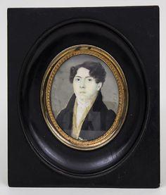 Lot: Miniatur Porträt eines jungen Mannes / A miniature, Lot Number: 550435, Starting Bid: €160, Auctioneer: Auktionshaus Schwab, Auction: Art and Antique auction, Date: April 24th, 2017 EDT